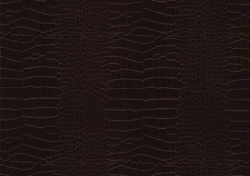 Selbstklebende Folie X6 - Chocolate leather crocodile skin