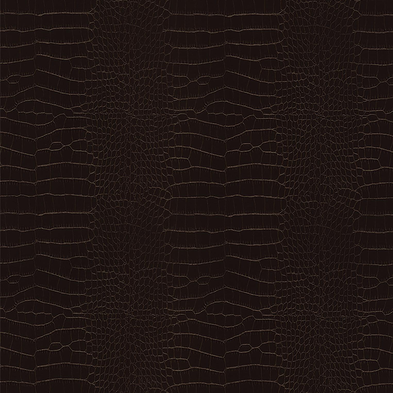 X6 Chocolate Leather Crocodile Skin