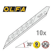 OLFA Snap-Off Blades 30° 10-pack
